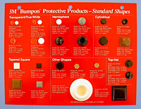 3M™ Bumpon™ Protective Products - Natural Rubber (3M SJ-5000 / SJ-5500 / SJ-5700)