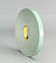 Double Coated Urethane Foam Tape 100 (3M 4032)